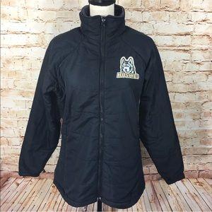 Columbia Womens Jacket SZ M Huskies Vertex Coat